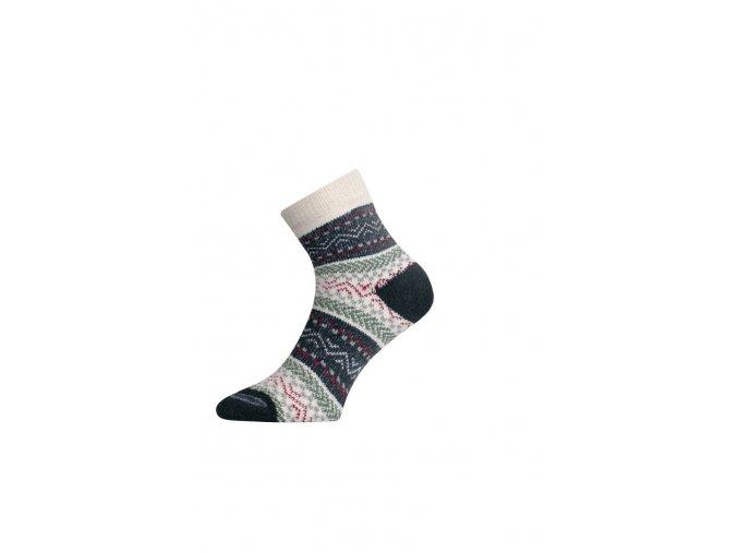 Lasting HMC 086 zelená silná ponožka  ponožky