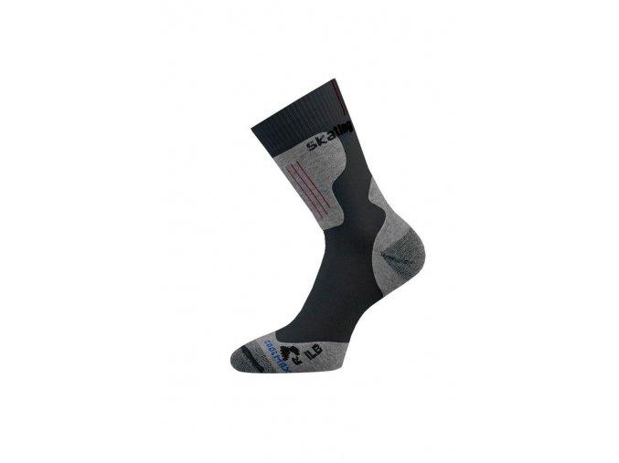Lasting ILB 900 černá Inline ponožky  ponožky