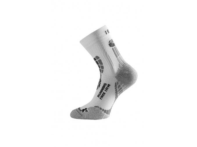 Lasting IRM 009 bílá běžecké ponožky  ponožky
