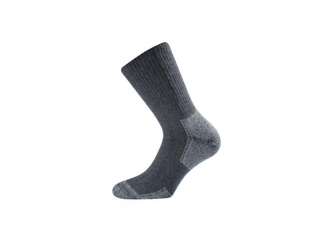 Lasting KNT 816 šedá funkční ponožky  ponožky