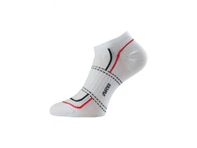 Lasting ARB ponožky pro aktivní sport bílá  ponožky