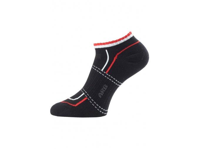 Lasting ARB ponožky pro aktivní sport černá  ponožky
