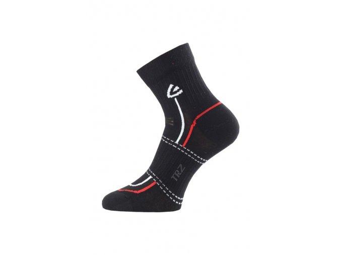 Lasting TRZ 900 ponožky pro aktivní sport černá  ponožky