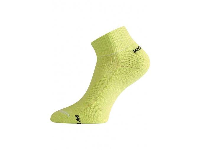Lasting WDL 609 zelená merino ponožky  ponožky
