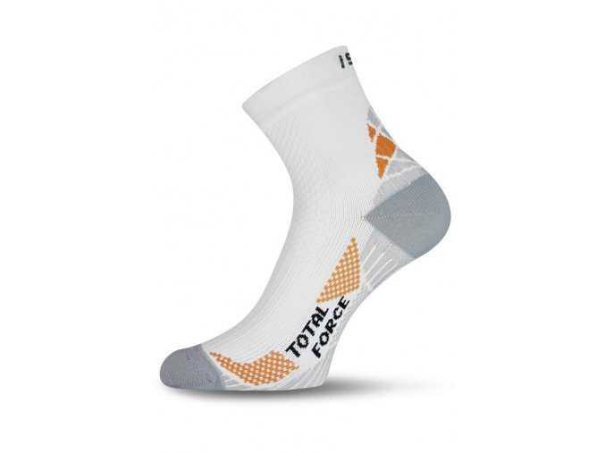 Lasting RTF 001 bílé běžecké ponožky  ponožky
