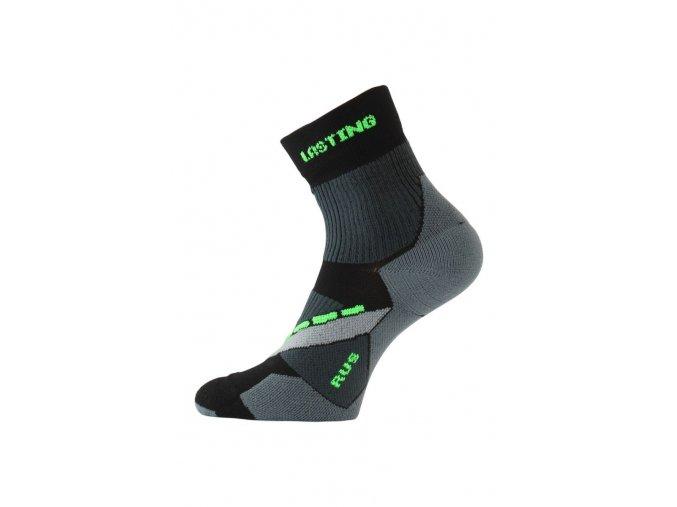 Lasting RUS 908 černá běžecké ponožky  ponožky