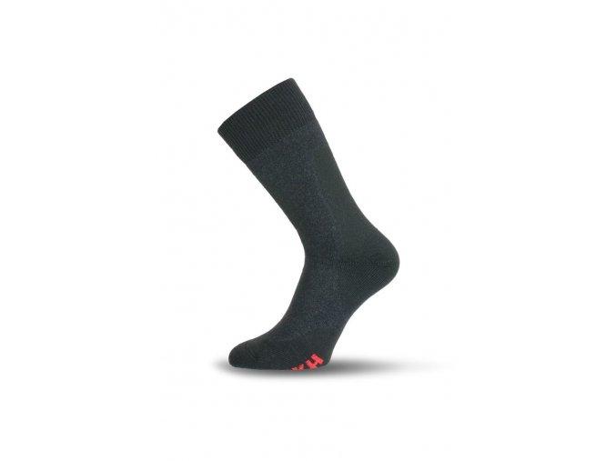 Lasting TKH 816 šedé zimní ponožky z ionty stříbra  ponožky