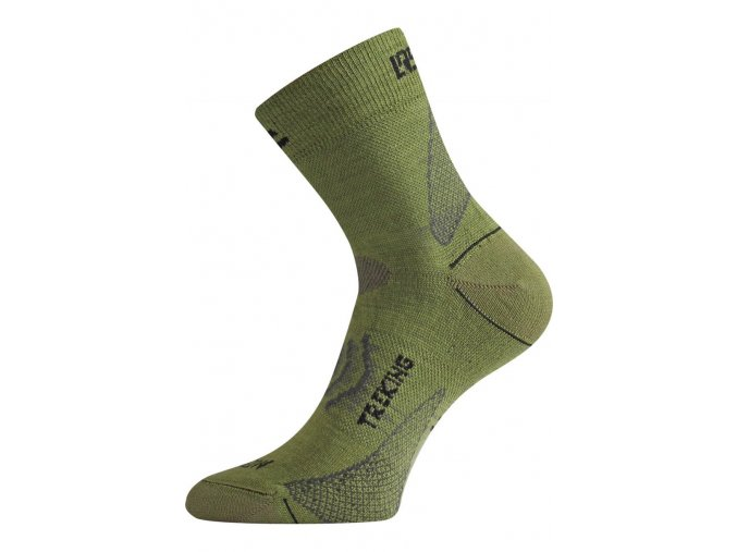 Lasting TNW 698 zelená merino ponožka  ponožky