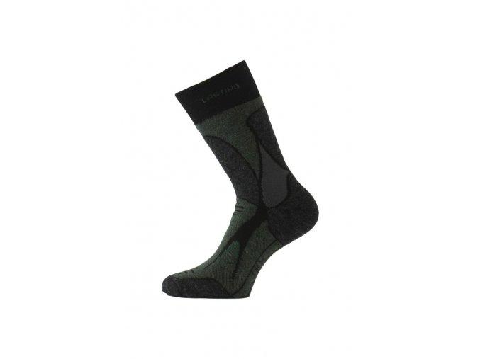 Lasting TRX 908 černá merino ponožky  ponožky