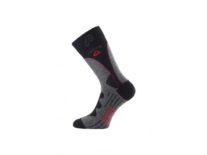 Lasting TWA 809 šedá merino ponožky  ponožky