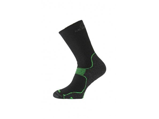 Lasting WSB 906 černá merino ponožky  ponožky
