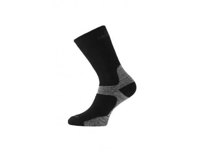 Lasting WSB 908 černá merino ponožky  ponožky