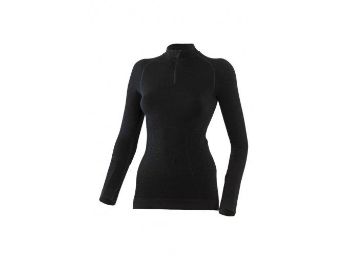 Lasting WIGI 9090 černá bezešvé Merino triko