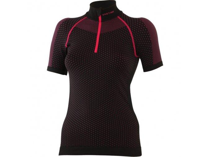 Lasting ASTA 9040 černá termo bezešvé triko