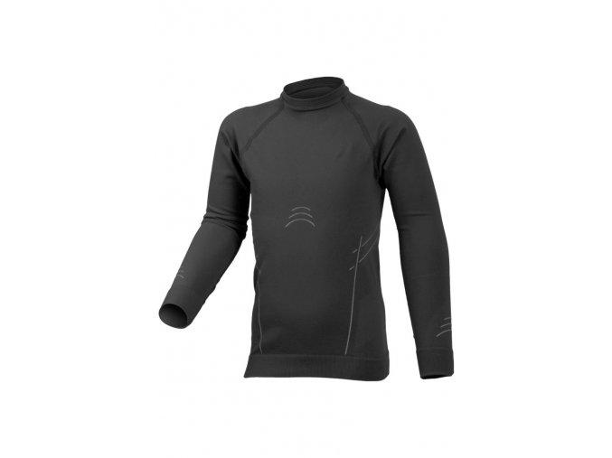 Lasting DARIO 9001 černá Termo bezešvé triko