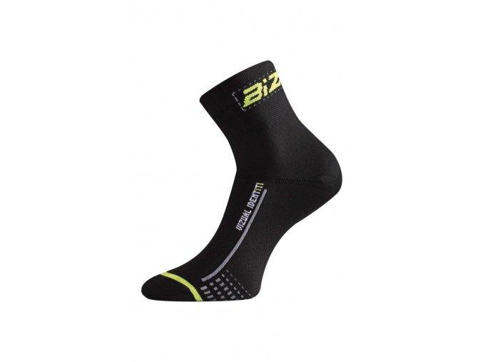 Lasting BS30 906 černá cyklo ponožky  ponožky