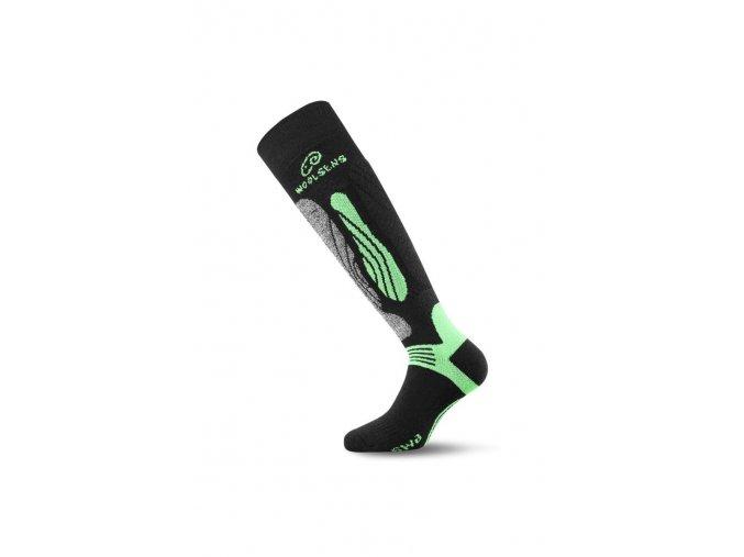 Lasting SWI 906 černá Lyžařské ponožky  ponožky