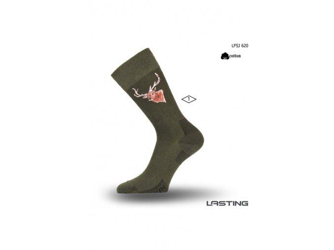 Lasting S motivem jelena LFSJ 620  ponožky
