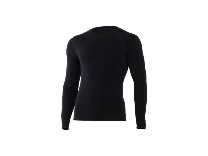Lasting WOLF 9090 černá bezešvé Merino triko