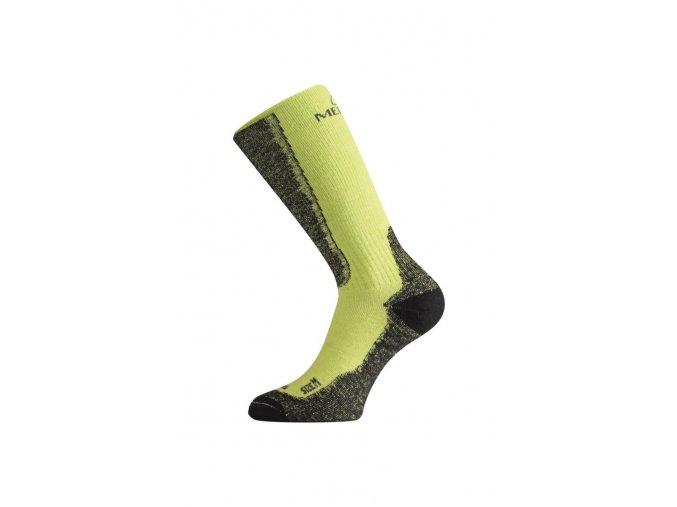 Lasting WSM 689 zelené vlněné ponožky  ponožky