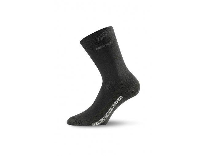 Lasting WXL 900 černá merino ponožky  ponožky