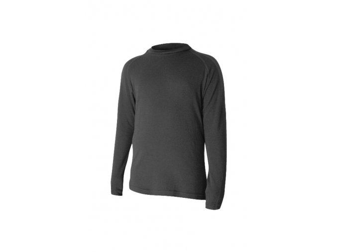Lasting HATY 9090 černá Vlněné Merino triko