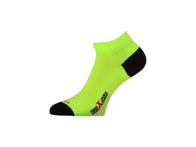 Lasting RXS 109 žlutá běžecké ponožky  ponožky