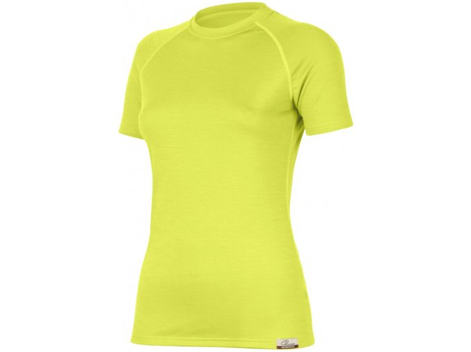 Lasting ALEA 6969 žluté vlněné merino triko