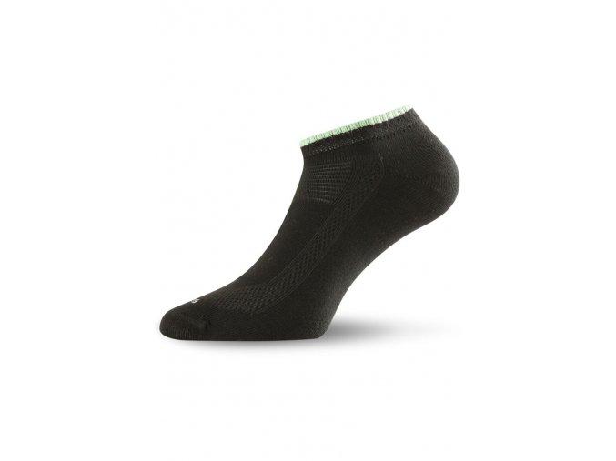 Lasting ARA-2pár bavlněné ponožky 906 černá  ponožky