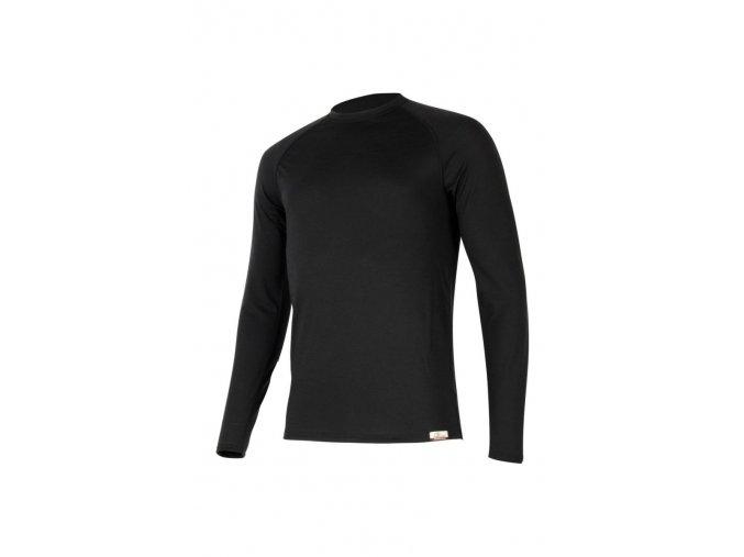 Lasting ATAR 9090 černé vlněné merino triko