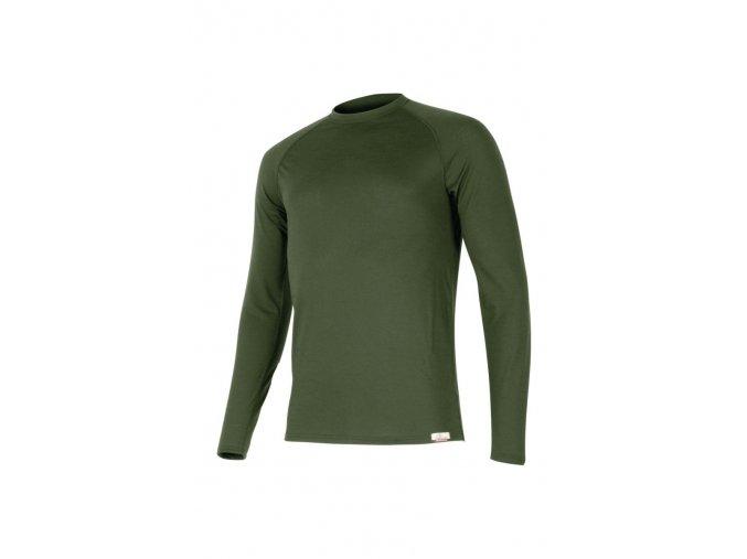 Lasting ATAR 6262 zelené vlněné merino triko