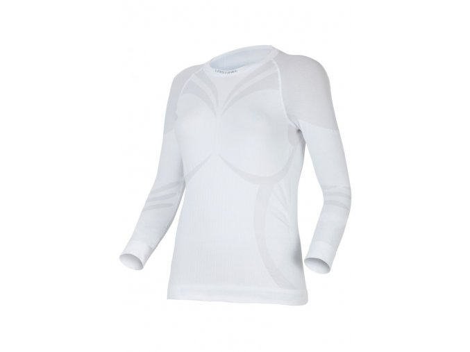 Lasting ATALA 0101 bílá termo bezešvé triko