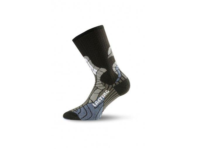 Lasting SCI 905 černá Termo ponožky  ponožky