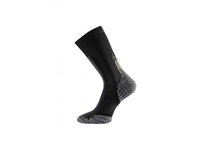 Lasting ITU 900 černá celoroční trekingová ponožka  ponožky
