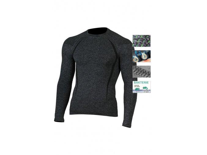 Lasting TOLO 8990 šedá termo bezešvé triko