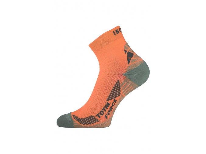 Lasting RTF 200 lososové běžecké ponožky  ponožky