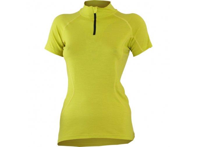 Lasting KATY 6969 žluté merino triko dámské