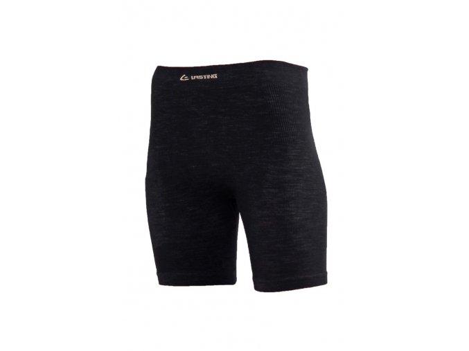 Lasting WAVION 9090 černé vlněné kalhotky