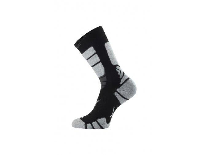 Lasting ILR 908 černá Středně dlouhá inlinová ponožka  ponožky