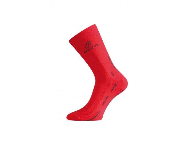 Lasting WLS 388 červená vlněná ponožka  ponožky