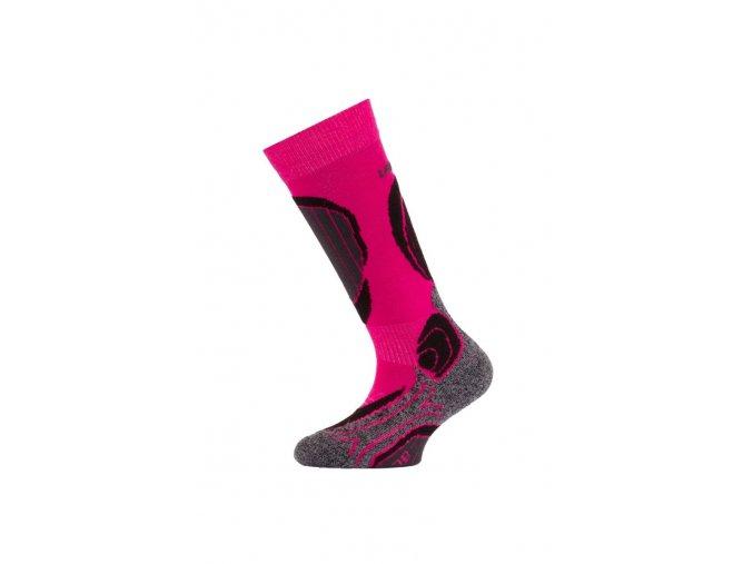 Lasting SJB 409 růžová dětské ponožky  ponožky