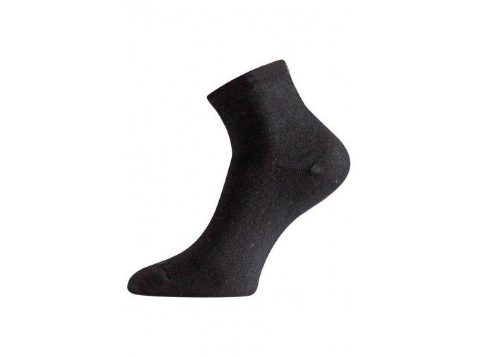 Lasting WAS 988 černé ponožky z merino vlny  ponožky