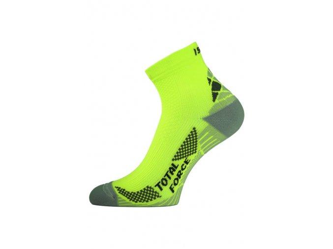 Lasting RTF 101 žluté běžecké ponožky  ponožky
