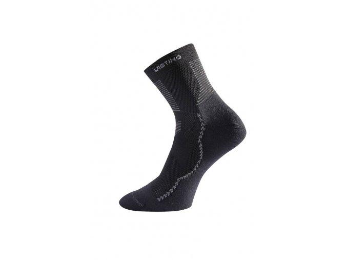 Lasting TCA 900 černá coolmaxová ponožka  ponožky