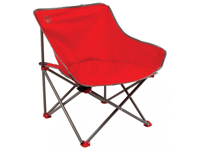 Coleman Kick Back Chair PDQ - RED
