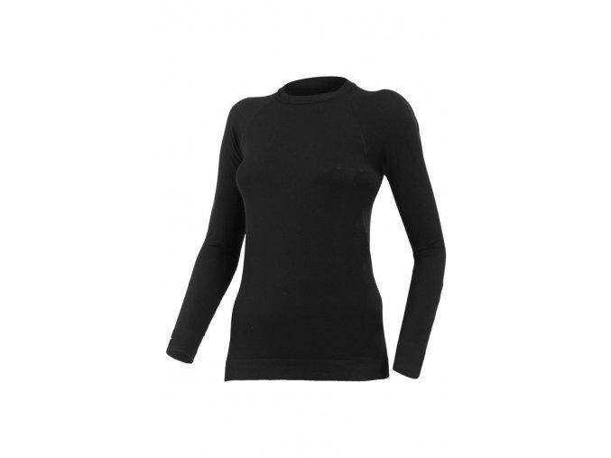 Lasting MARELA 9090 černá bezešvé triko