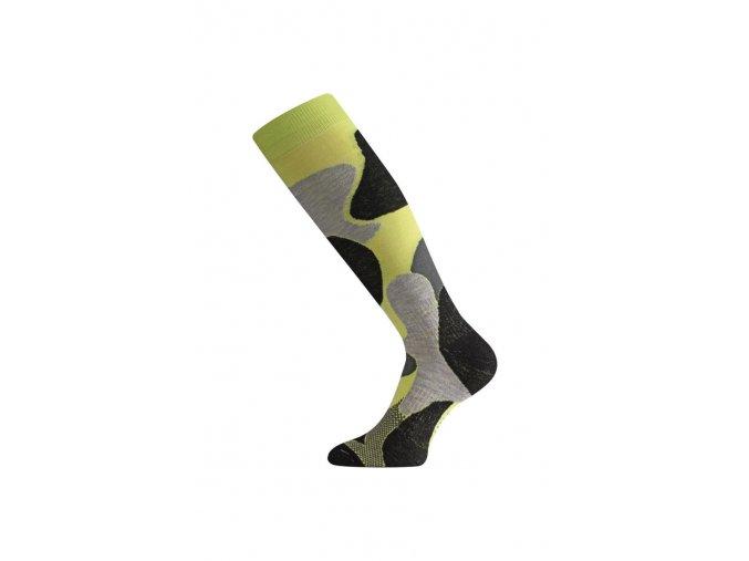 Lasting SWM 698 zelená merino ponožky lyžařské  ponožky