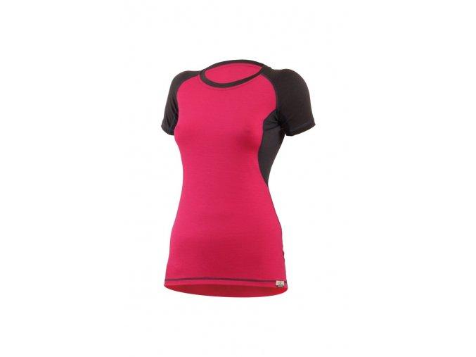 Lasting ZITA 4780 růžové vlněné merino triko
