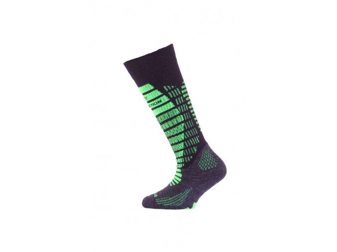 Lasting SJR 906 černá dětské ponožky  ponožky