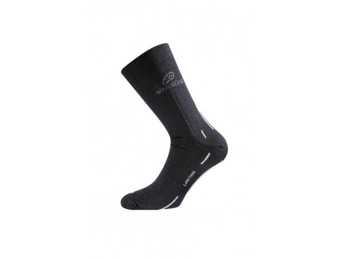 Lasting WLS 901 černá vlněná ponožka  ponožky